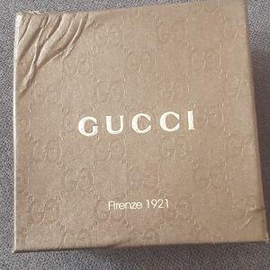 Authentic Leather Gucci Belt